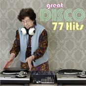 gemafreie CD - Great Disco 77 Hits